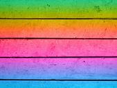 彩绘的木板背景 — 图库照片