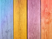 Painted wooden planks — Stock Photo