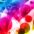 Spectral sphear background — Stock Photo