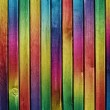 Colorful wooden background — Stock Photo #1301413