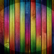 Colorful wooden background — Photo