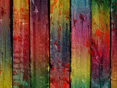 Vintage coloful wooden wall - more simil — Stock Photo