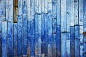Fond en bois vintage bleu — Photo