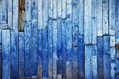 Vintage blauwe houten achtergrond — Stockfoto