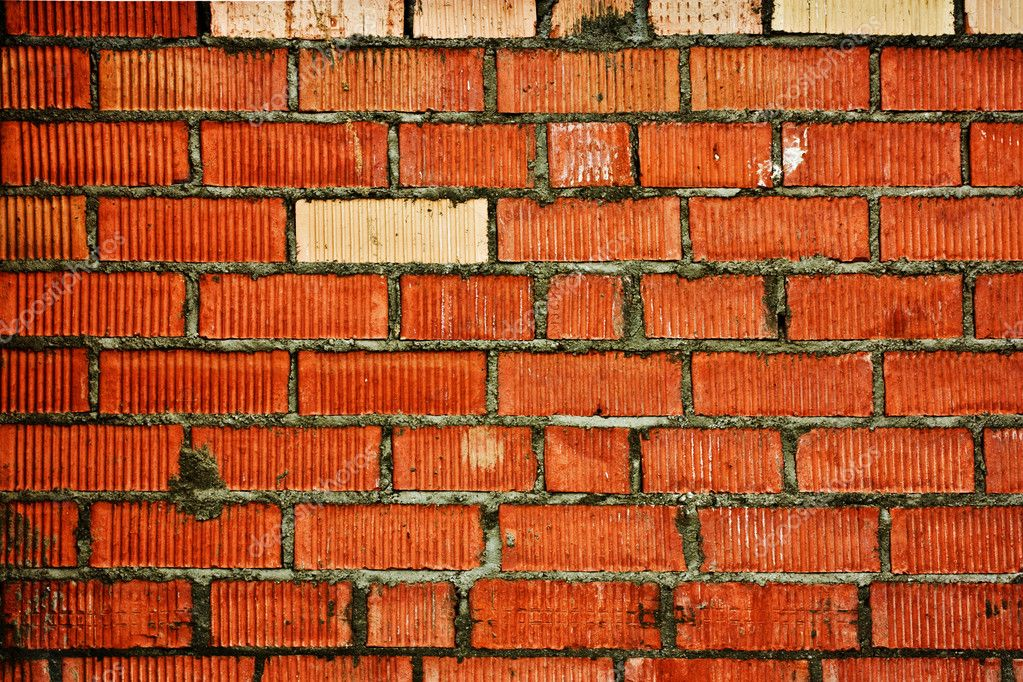 Vintage brick wall background  Stock Photo #1407647