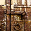 Stock Photo: Vintage rusty gates