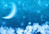 Night sky — Stock Photo