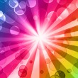 Colorful night party background — Stock fotografie