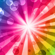 Stock Photo: Colorful night party background