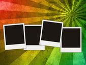 Cuatro fotos en blanco — Foto de Stock