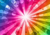 Colorful night party background — Foto de Stock