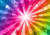 Kleurrijke nacht partij achtergrond — Stockfoto