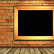 Vintage brick wall background — Foto Stock