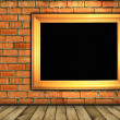 Vintage brick wall background — Lizenzfreies Foto