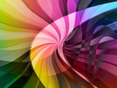 Curve digital background — Stock Photo