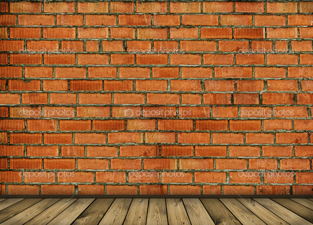Vintage brick wall background  Stock Photo #1638990