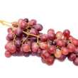 A bunch of red grape isolated over white — Stock Photo #1640669