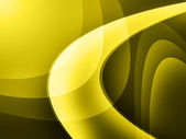 Yellow curve digital background — Stock Photo