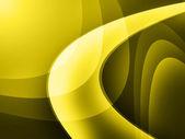 Yellow curve digital background — Stock Photo