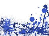Colorful paint splashes background — Stock Photo