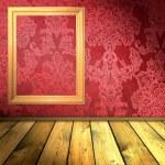 ponto vermelho vintage interior — Foto Stock