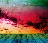 Cool pastel interior — Stock Photo