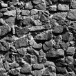 Black and white stone background — Foto Stock
