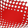 Stock Photo: Stylish dots abstract background