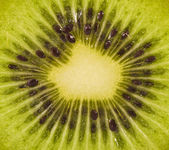 Kiwi cut texture — Stock Photo