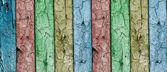 复古蓝色木墙 — 图库照片