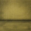 Stock Photo: Yellow wicker textured background
