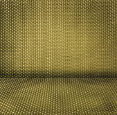 Yellow wicker textured background — Foto Stock