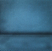 Blue wicker textured background — Foto Stock