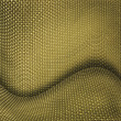 Yellow wicker textured background — Stock Photo