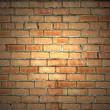 Vintage bakstenen muur achtergrond — Stockfoto