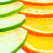 Citrus background — Photo