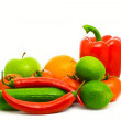 Stock Photo: Vegeterian background