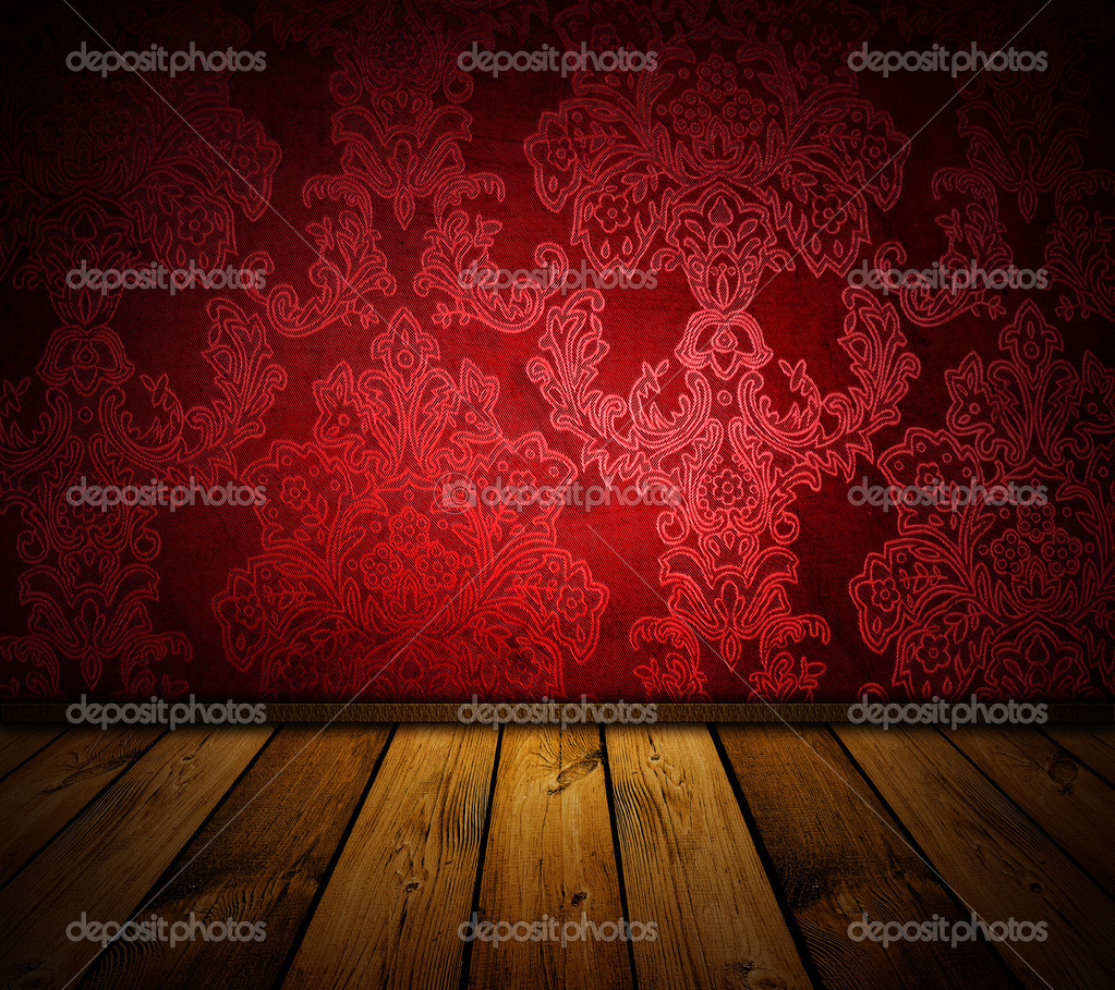 Sharp red vintage interior - similar images available — Foto Stock #2453097