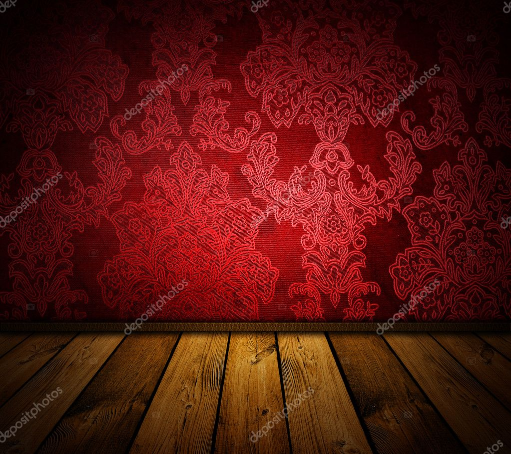 Sharp red vintage interior - similar images available  Stock fotografie #2453097