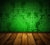 Sharp interio vintage vert — Photo