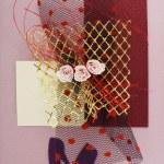 Postcard design — Stock Photo