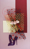 Diseño de tarjeta postal — Foto de Stock
