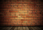 Vintage brick wall background — Стоковое фото
