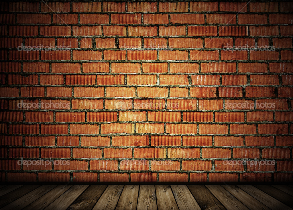 Vintage brick wall background — Photo #2554598