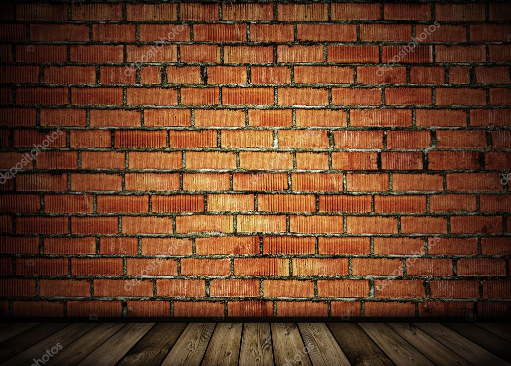 Vintage brick wall background  Foto Stock #2554598