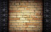 Cegły i dżinsy — Zdjęcie stockowe