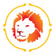 Vector lion — Stock Vector