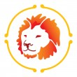 Vector lion - Stock Vector