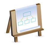 Buisness plan concept — Stock Vector