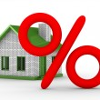 Discounts for real estate - Stock Photo